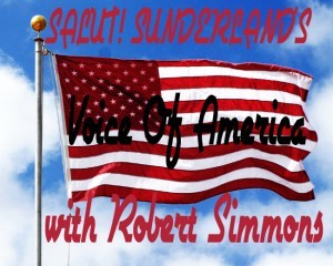 Jake flies the flag for Robert Simmons