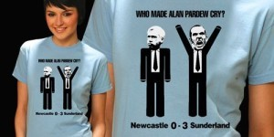Quick off the mark: ALS post-derby T-shirts