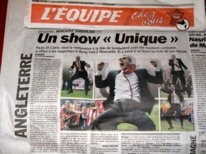 No need to translate: for L'Equipe, it was 'une victoire amplement méritée'