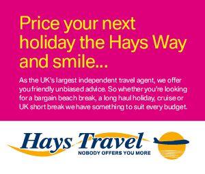 Hays Travel Holidays