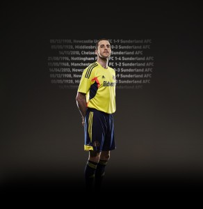 Posed by John O'Shea, kindly supplied by SAFC