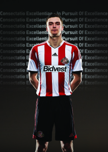 Posed by Adam Johnson, kindly supplied by SAFC