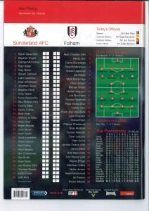 Fulham Programme 2