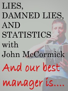 John McCormick: master of dodgy numbers.