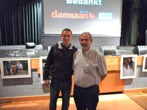 Walter with Thomas Vermaelen