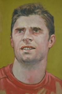 Sir Niall, by Owen Lennox.  The lastfootballer on the board