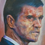 Roy Keane, as portrayed by Owen Lennox