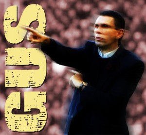 Minor consolation for Poyet, as seen by Jake
