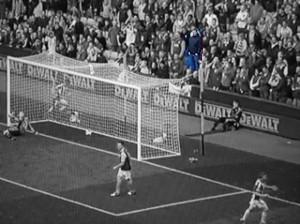 David Hale: feeling blue behind the goal