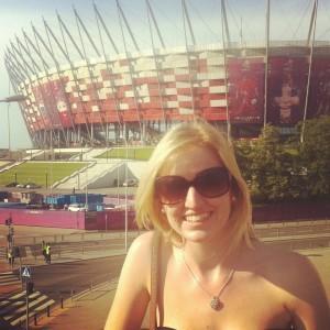 Melissa Rudd: on Euro 2012 duty for talkSPORT