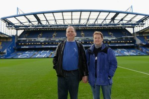 David and Robin Millward relive the 1985 pitch invasion