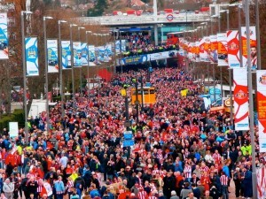 Going again? Wembley Way by Rob Hutchinson, March 2014