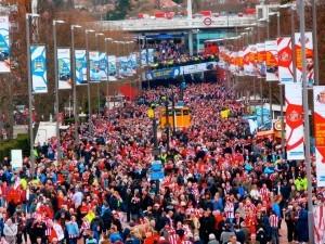 Wembley Way by Rob Hutchinson