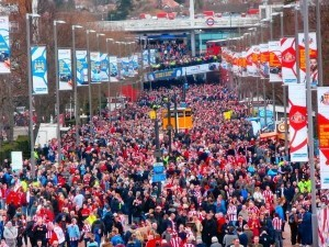 As Rob Hutchinson saw Wembley Way