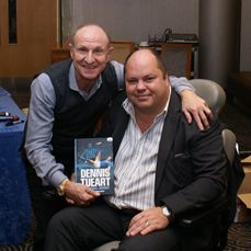Mark Barber with Dennis Tueart