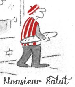 Matt's cherished (by M Salut) cartoon, as adapted by Jake