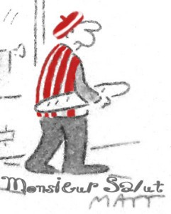 M Salut, drawn by Matt, adapted by jake