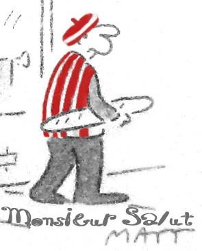 M Salut, drawn by Matt, colouring by Jake