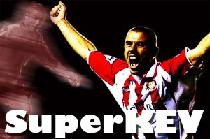 Jake and Salut! Sunderland salute SuperKev