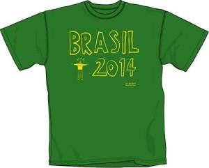 WSC's Brazil 2014 t-shirt