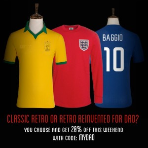 Scroll down for Campo Retro's Father's Day promotion*