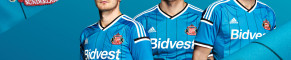 Sunderland: the new away top*
