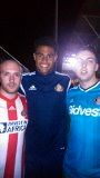 Richy on the left, Mikael Mandron in the middle and Michael (Tomo) Thompson on the right