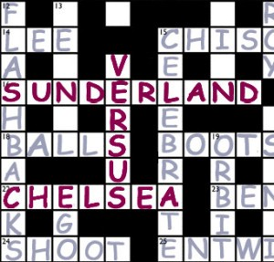 Jake: 'here's hoping only Chelsea have cross words after this one'