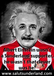 you don't have to be Einstein to know our chances aren't good