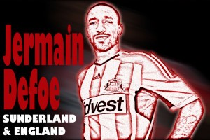 Jake's own welcome to Jermain Defoe