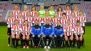 The 2014 Sunderland Ladies squad