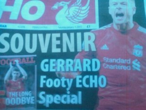 The Echo lost no time in putting out a souvenir