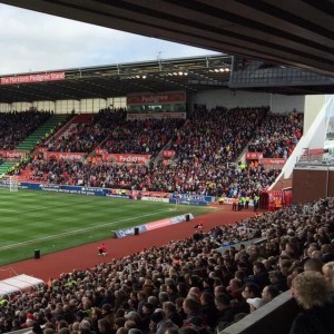 Our customary big turnout. Courtesy of @theawayfans