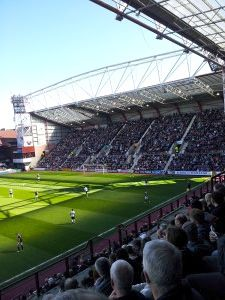 Getting sunnier at Tynecastle