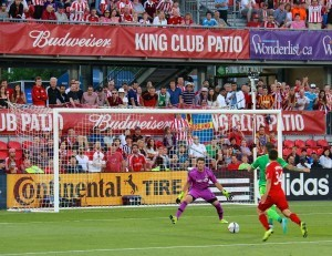 Bill Taylor: 'Jermain's goals were not well received by the Toronto crowd'