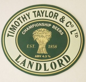 TT's Landlord - just what you need before watching a Sunderland game.