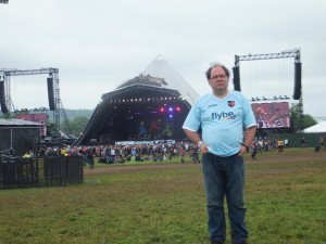 Paul Sussex at Glastonbury: were the Grecians playing?