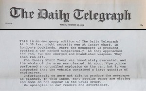 telegraph bombing page