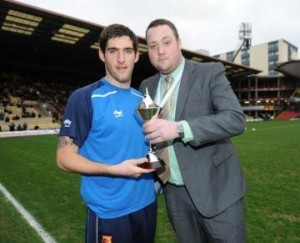 Ben with Danny Graham