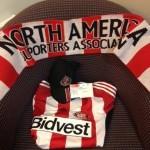 Martin's lucky scarf & top