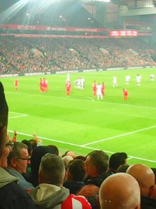 Action from Anfield
